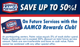 Aamco transmission coupons